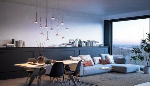 cf0343fa86 Sześć wersji lampy Fairy oferuje nam wiele możliwości w oświetleniu naszego  mieszkania